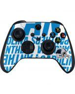 Carolina Panthers - Blast Xbox Series X Controller Skin