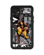 Wolverine Comic Strip iPhone 11 Waterproof Case
