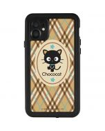 Chococat Brown and Blue Plaid iPhone 11 Waterproof Case