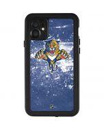 Florida Panthers Frozen iPhone 11 Waterproof Case