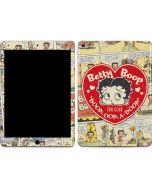 Betty Boop Comic Strip Apple iPad Air Skin
