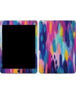 Pink Sparkle Brush Stroke Apple iPad Air Skin