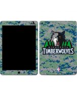 Minnesota Timberwolves Digi Camo Apple iPad Air Skin
