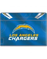 Los Angeles Chargers Team Jersey Galaxy Book Keyboard Folio 12in Skin