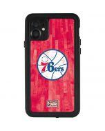 Philadelphia 76ers Hardwood Classics iPhone 11 Waterproof Case