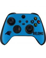 Carolina Panthers Team Motto Xbox Series X Controller Skin