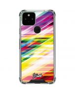 Abstract Spectrum Google Pixel 5 Clear Case