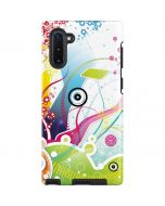 Abstraction White Galaxy Note 10 Pro Case