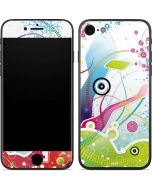 Abstraction White iPhone 8 Skin