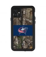 Columbus Blue Jackets Realtree Xtra Camo iPhone 11 Waterproof Case