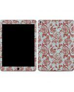 Marsala White Rose Apple iPad Air Skin
