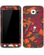 Tampa Bay Buccaneers Tropical Print Galaxy S6 Edge Skin