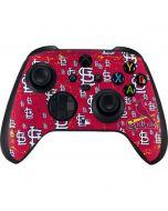St. Louis Cardinals - Primary Logo Blast Xbox Series X Controller Skin