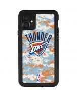 Oklahoma City Thunder Digi Camo iPhone 11 Waterproof Case