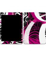 Pink and White Hipster Apple iPad Air Skin