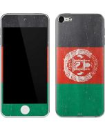 Afghanistan Flag Distressed Apple iPod Skin