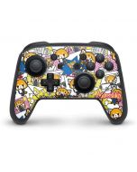 Aggretsuko Blast Nintendo Switch Pro Controller Skin