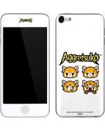 Aggretsuko Expressions Apple iPod Skin