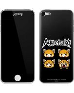 Aggretsuko Facial Expressions Apple iPod Skin