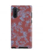 Airy Blue Floral Galaxy Note 10 Pro Case