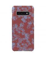 Airy Blue Floral Galaxy S10 Plus Lite Case