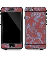 Airy Blue Floral LifeProof Nuud iPhone Skin