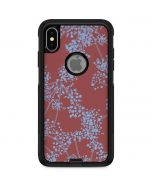 Airy Blue Floral Otterbox Commuter iPhone Skin