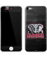 Alabama Basketball Wood Apple iPod Skin
