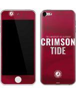 Alabama Crimson Pride Apple iPod Skin
