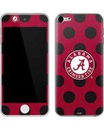 Alabama Polka Dot Apple iPod Skin