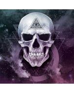 Purple Skull Amazon Echo Dot Skin