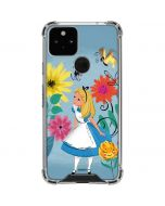 Alice Among The Flowers Google Pixel 5 Clear Case