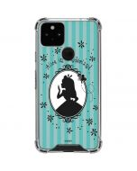 Alice in the Mirror Google Pixel 5 Clear Case