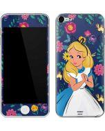 Alice in Wonderland Floral Print Apple iPod Skin