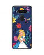 Alice in Wonderland Floral Print LG K51/Q51 Clear Case