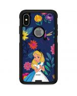 Alice in Wonderland Floral Print Otterbox Commuter iPhone Skin