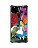 Alice in Wonderland Google Pixel 5 Clear Case