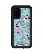 Alice in Wonderland Mushrooms Galaxy S20 Waterproof Case