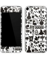 Alice in Wonderland Silhouette Apple iPod Skin