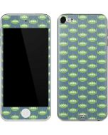 Alien Pattern Apple iPod Skin