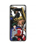 All Might and Deku LG K51/Q51 Clear Case