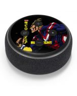 All Might Ready for Battle Amazon Echo Dot Skin