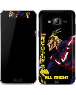 All Might Ready for Battle Galaxy J3 Skin