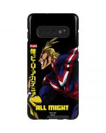 All Might Ready for Battle Galaxy S10 Plus Pro Case
