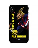 All Might Ready for Battle iPhone XS Lite Case