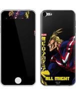 All Might Ready for Battle Apple iPod Skin