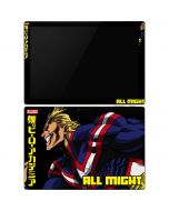 All Might Ready for Battle Surface Pro 6 Skin