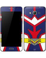 All Might Suit Galaxy Grand Prime Skin