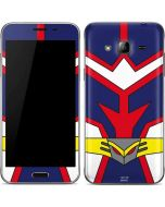 All Might Suit Galaxy J3 Skin