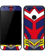 All Might Suit Google Pixel Skin